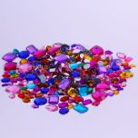 colourful jewels for collage