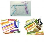 weaving frame set for early years