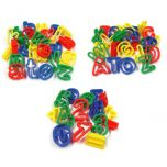 alphabet and number dough cutters