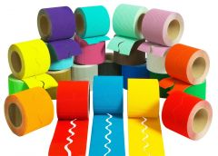 Borders Pack of 12 Mixed Colours