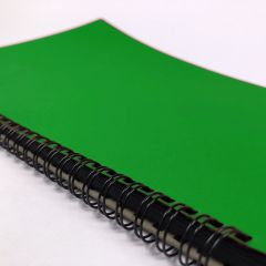 Green cover topic book