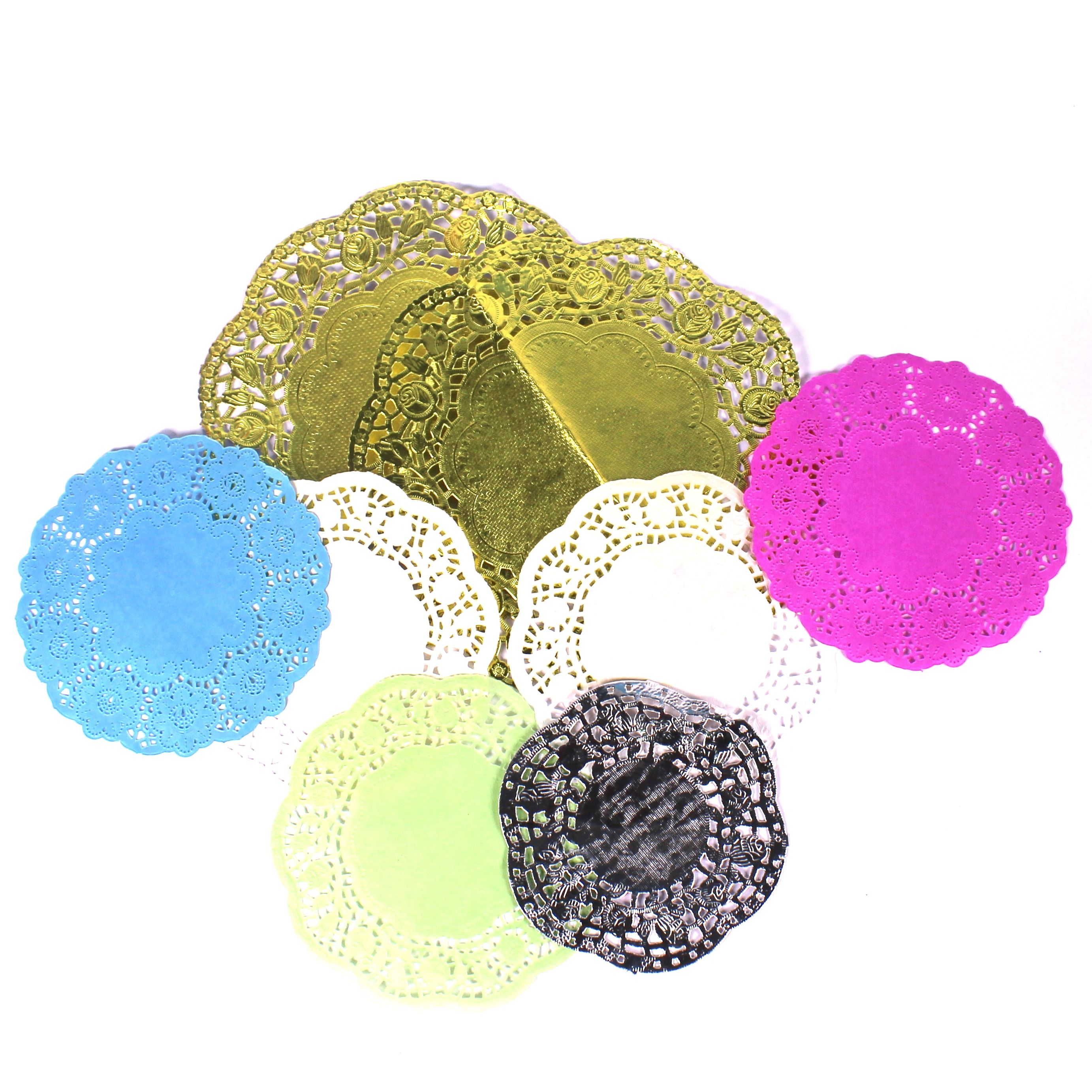 assorted crafts doilies for kids