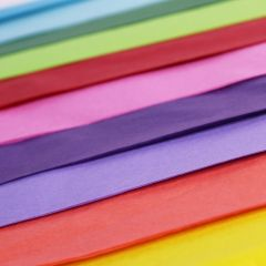 Multi Coloured Tissue Paper Selection - 20 sheets
