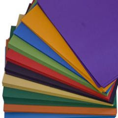 Recycled intensive colour card