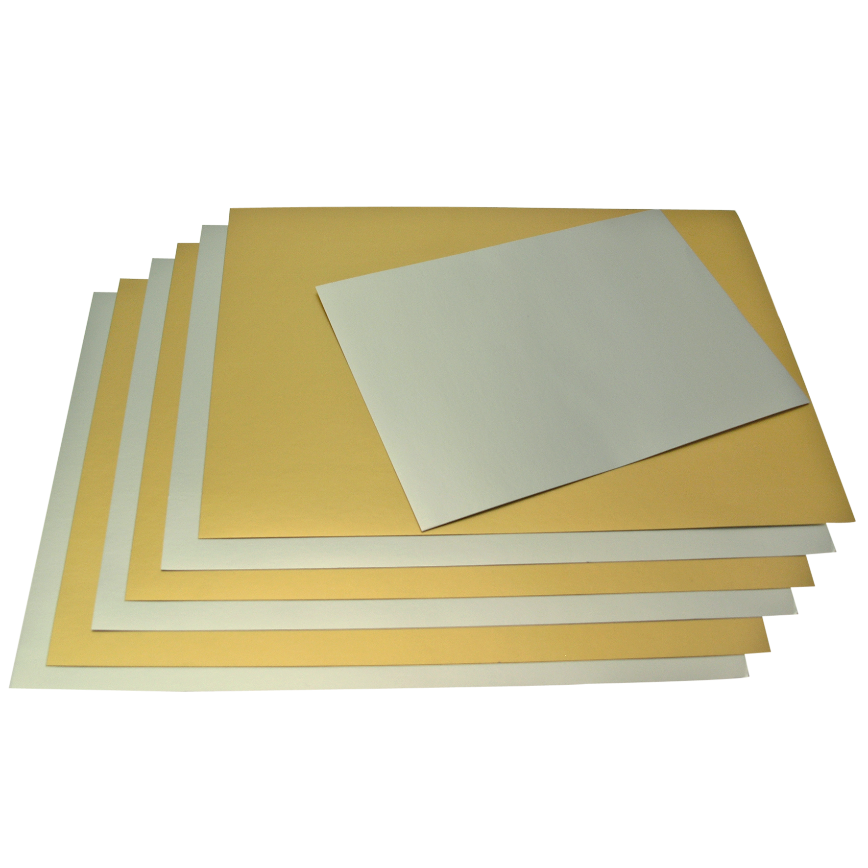 A4 Gold and Silver card Mix 8 Sheets