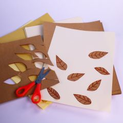 natural coloured paper