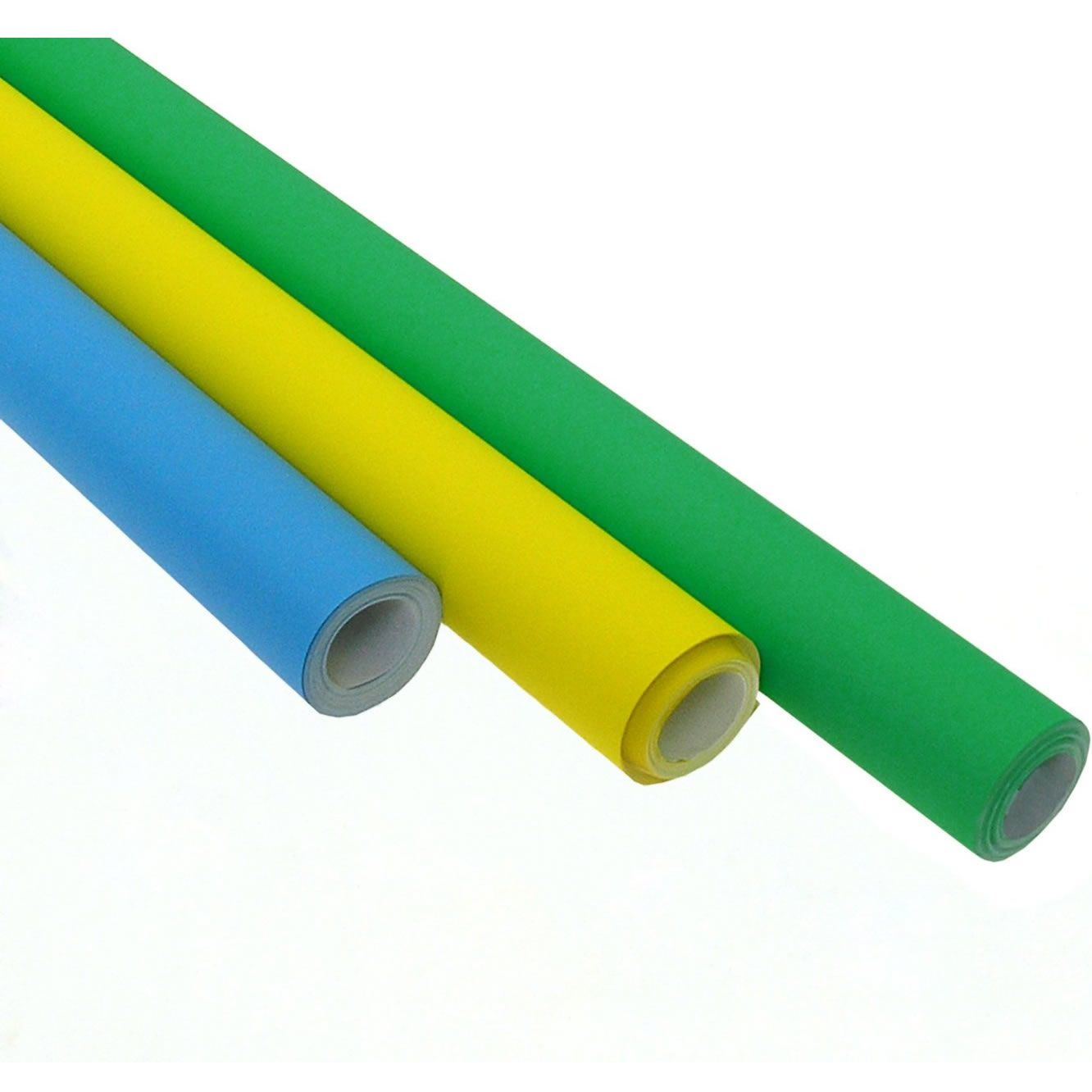 Poster Roll 10m Selection Blue, Green and Yellow