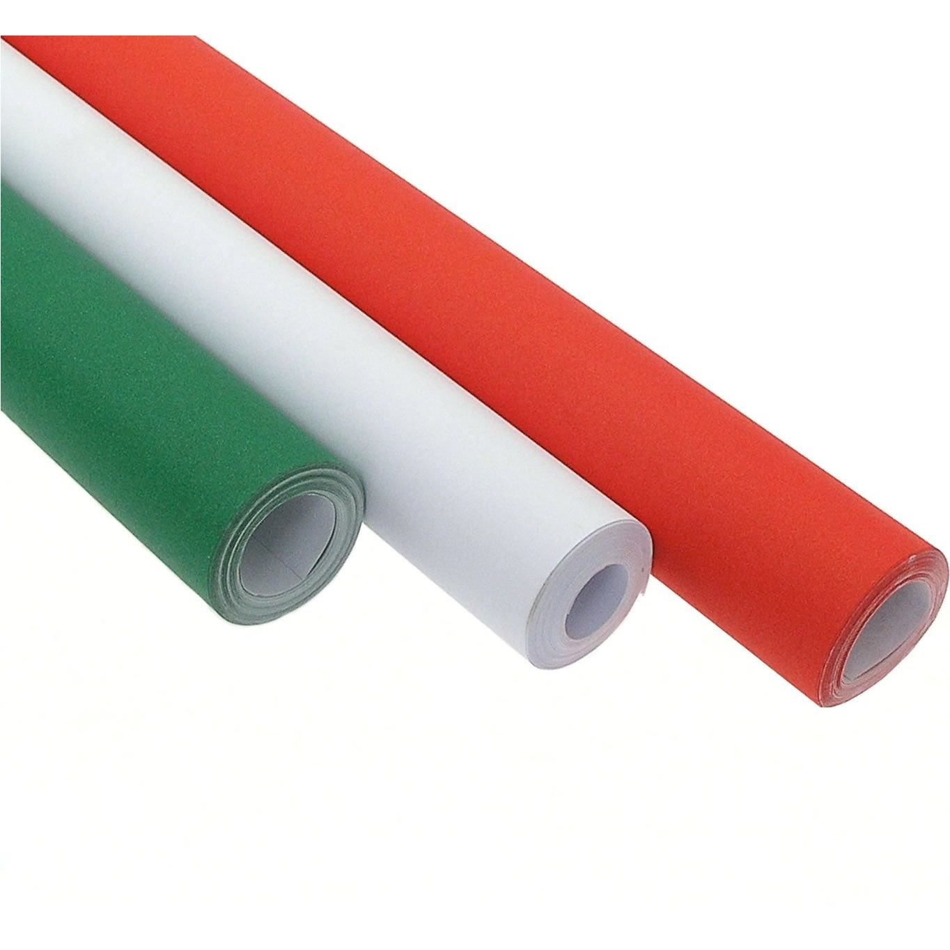 Poster Roll 10m Selection Red, White and Green