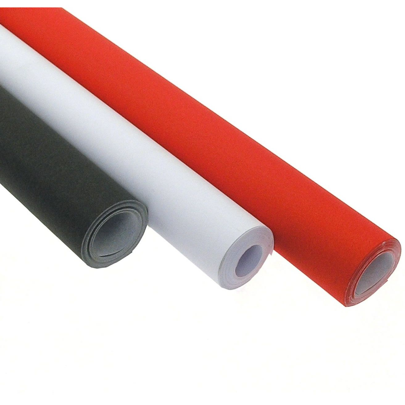 Poster Roll 10m Selection Red, White & Black