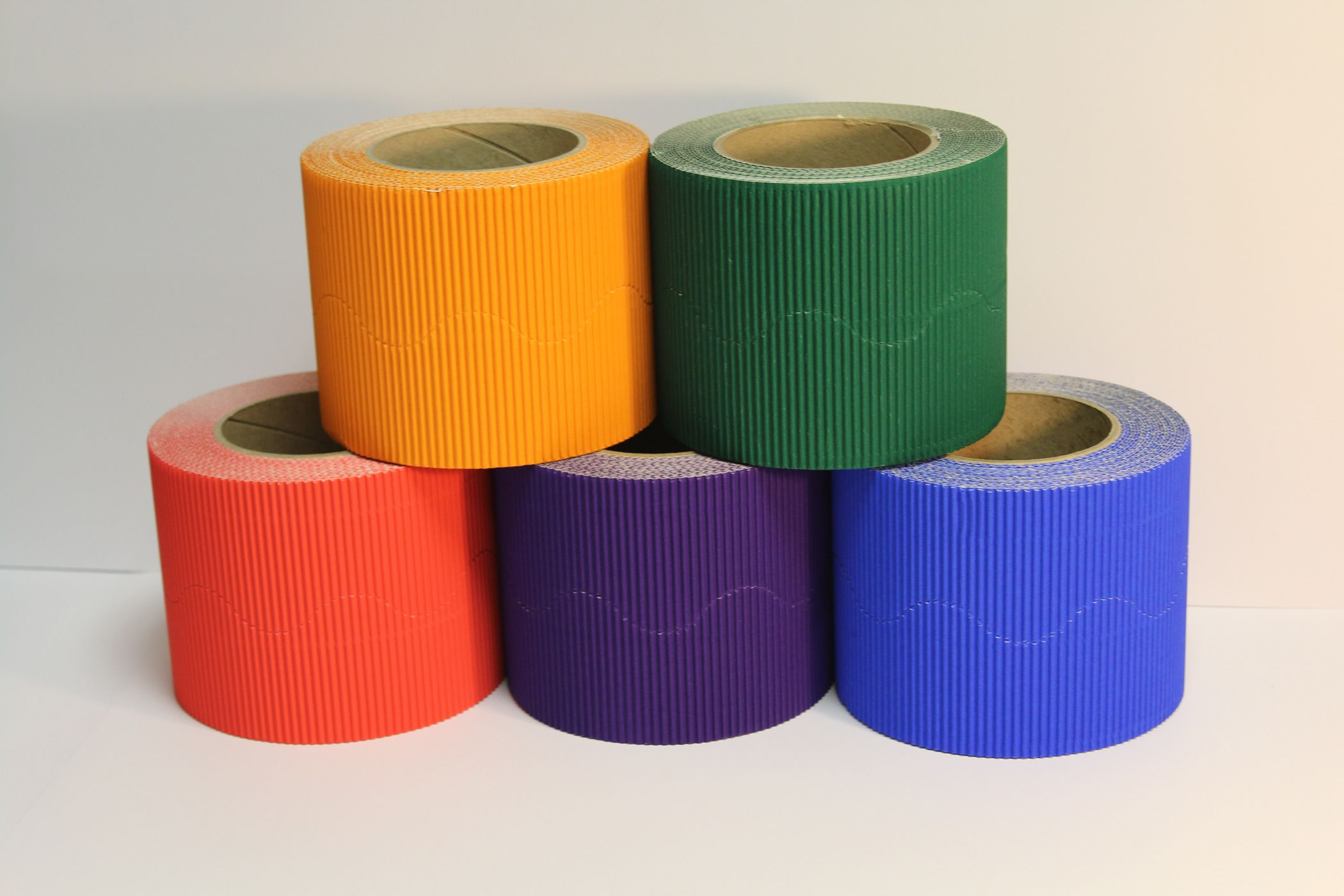 Border Pack of 5 Warm Colours