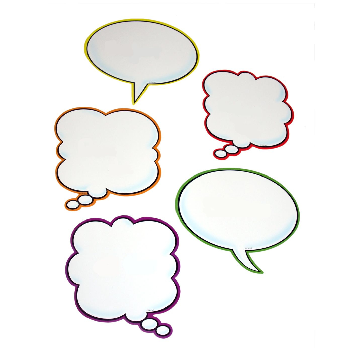 Speech Bubble Display Accents