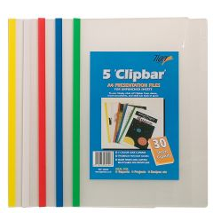 Clipbar Presentation Files Pack of 5