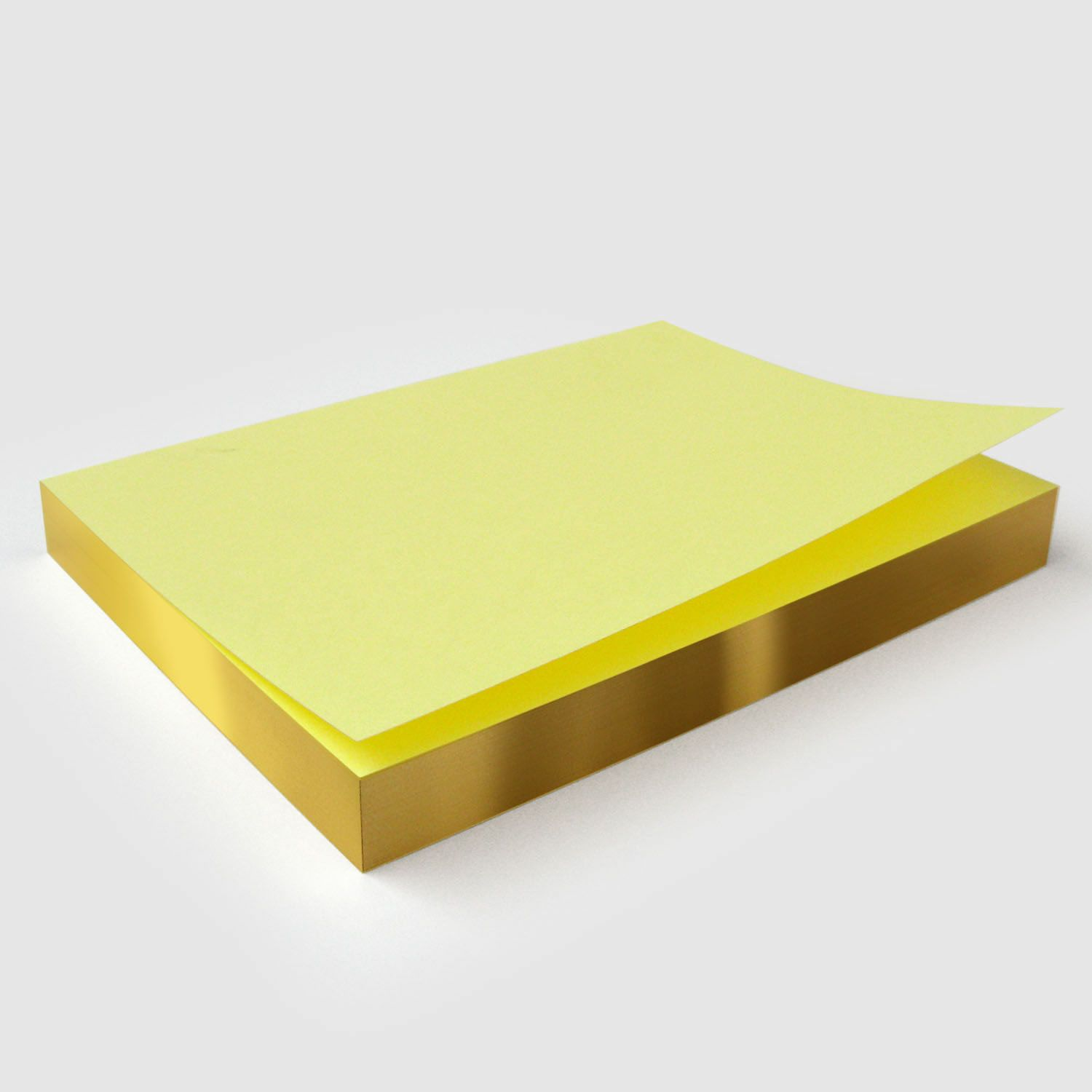 Yellow Sticky Notes Rectangle 76x127mm