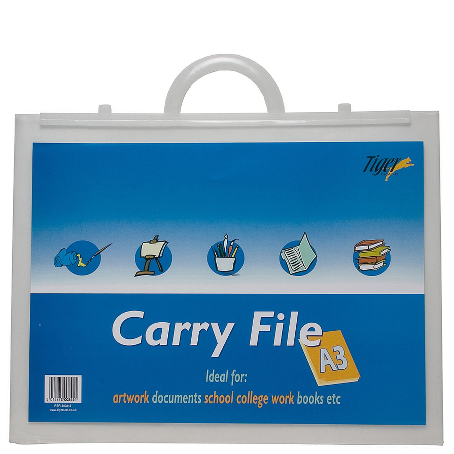 Tiger A3 Carry File Clear