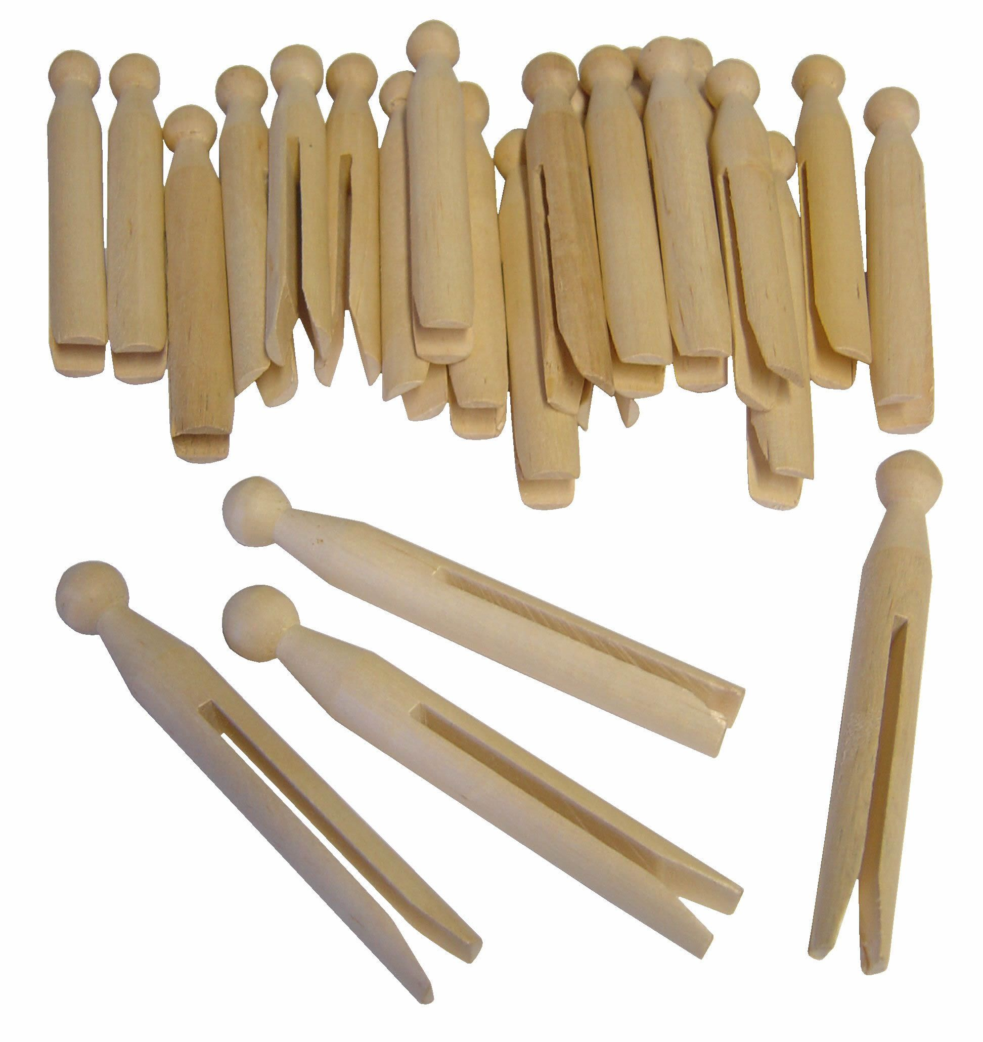 Dolly Pegs 24