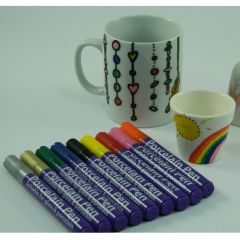 Porcelain and Glass Pens
