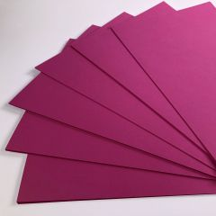 bright pink card