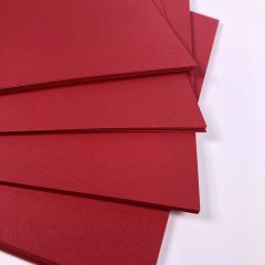 intensive red a5 card