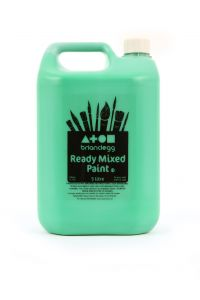 Bright Green Ready Mix Paint - 5 litre