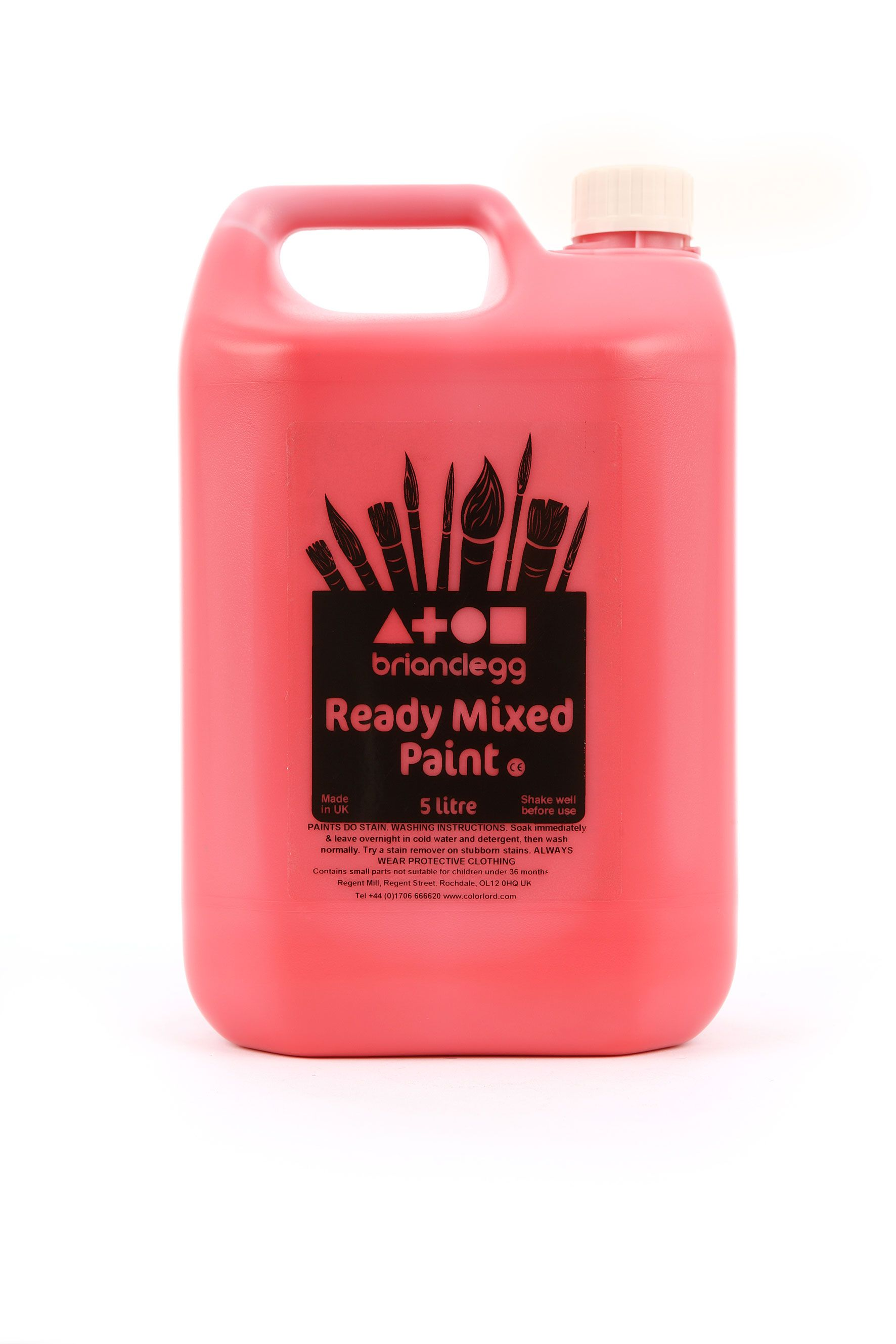 Ready Mix Paint 5 litre Red