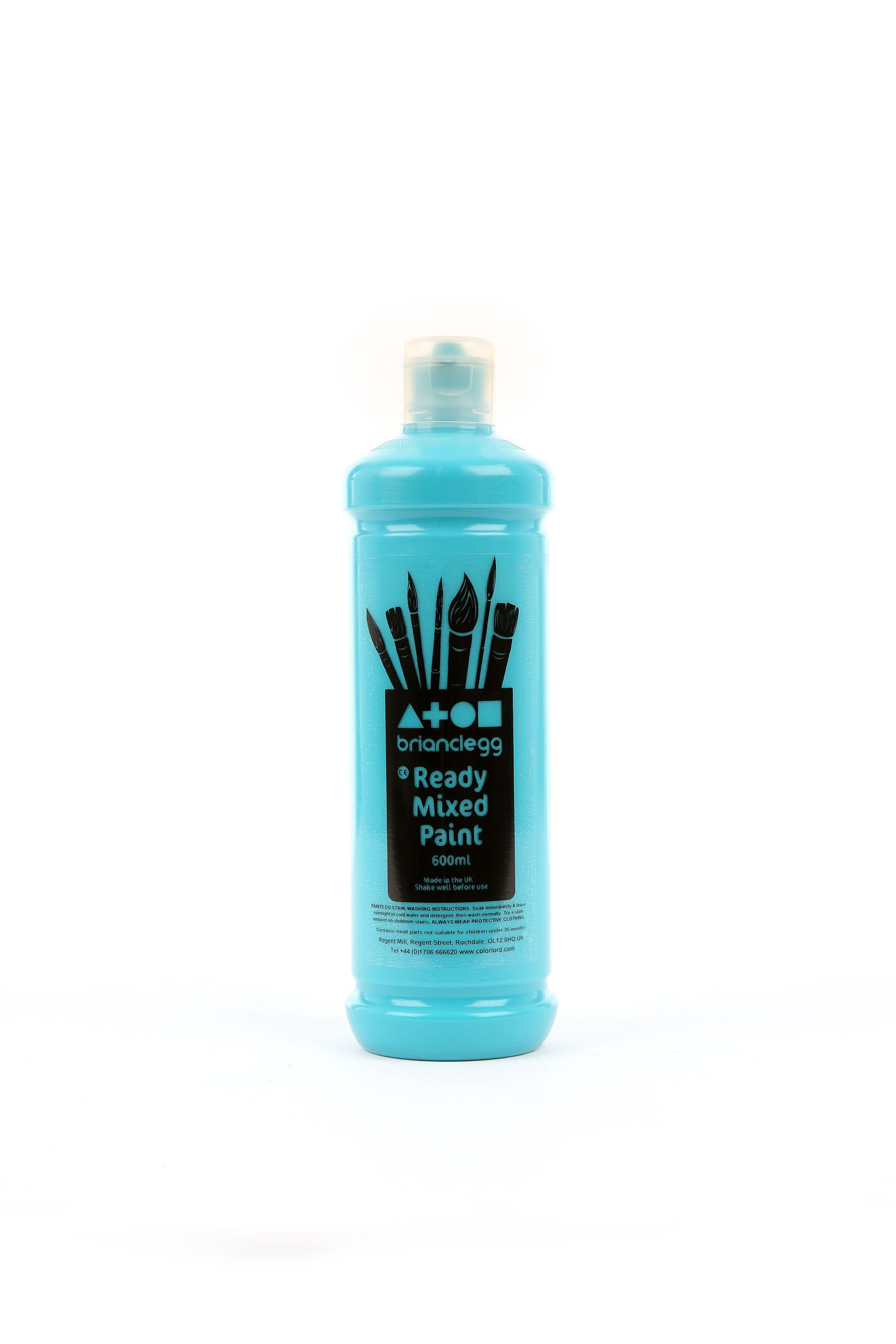 Ready Mix Paint 600ml Turquoise