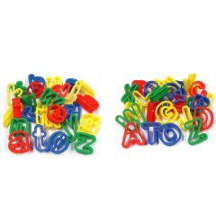 uppercase and lowercase alphabet cutters