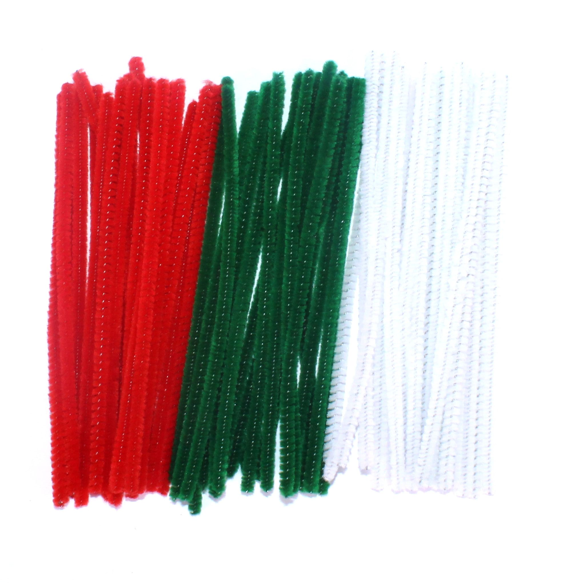 Festive Christmas pipecleaners