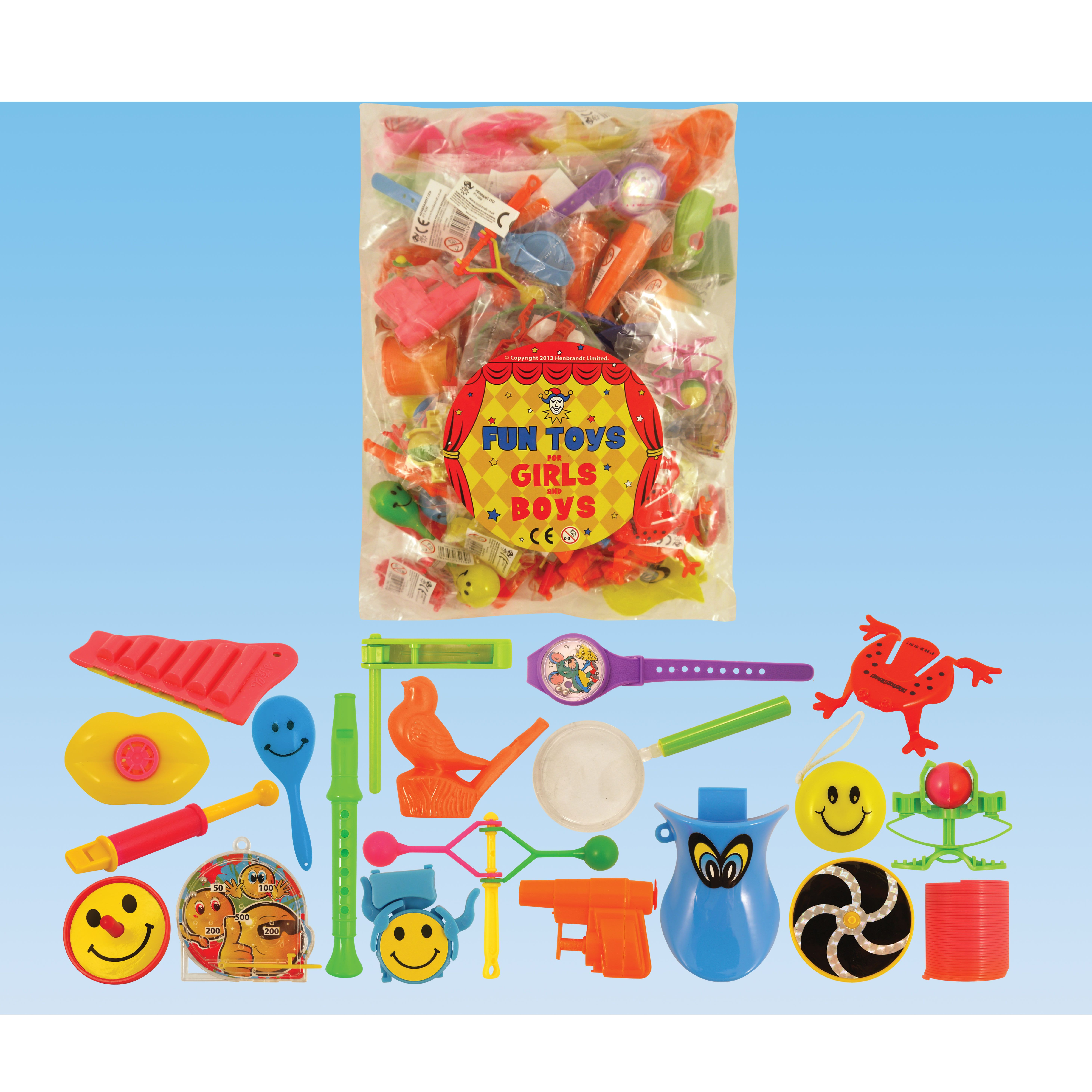 Mixed Toy Bag 100 Pieces