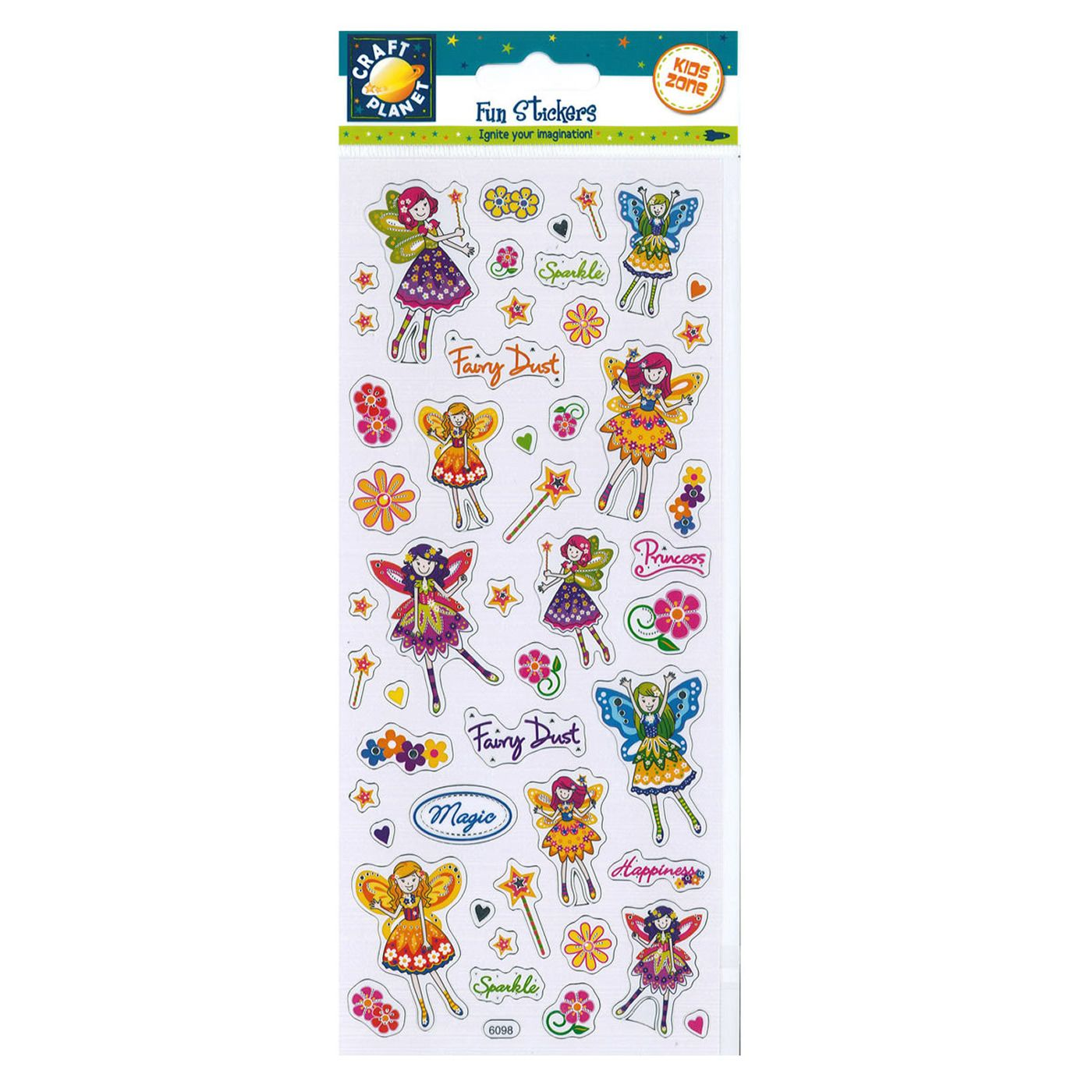 Floral Fairy Stickers