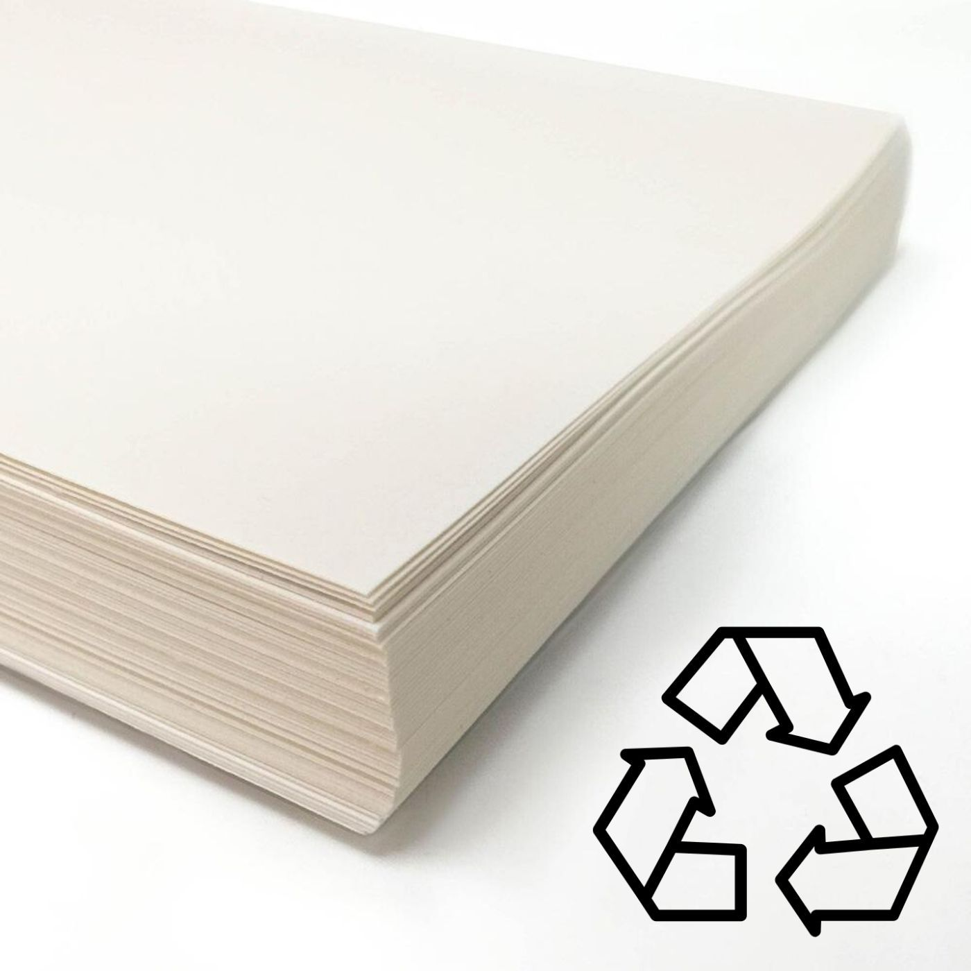 A2 Cartridge paper 140gsm 100% Recycled 250 Sheets