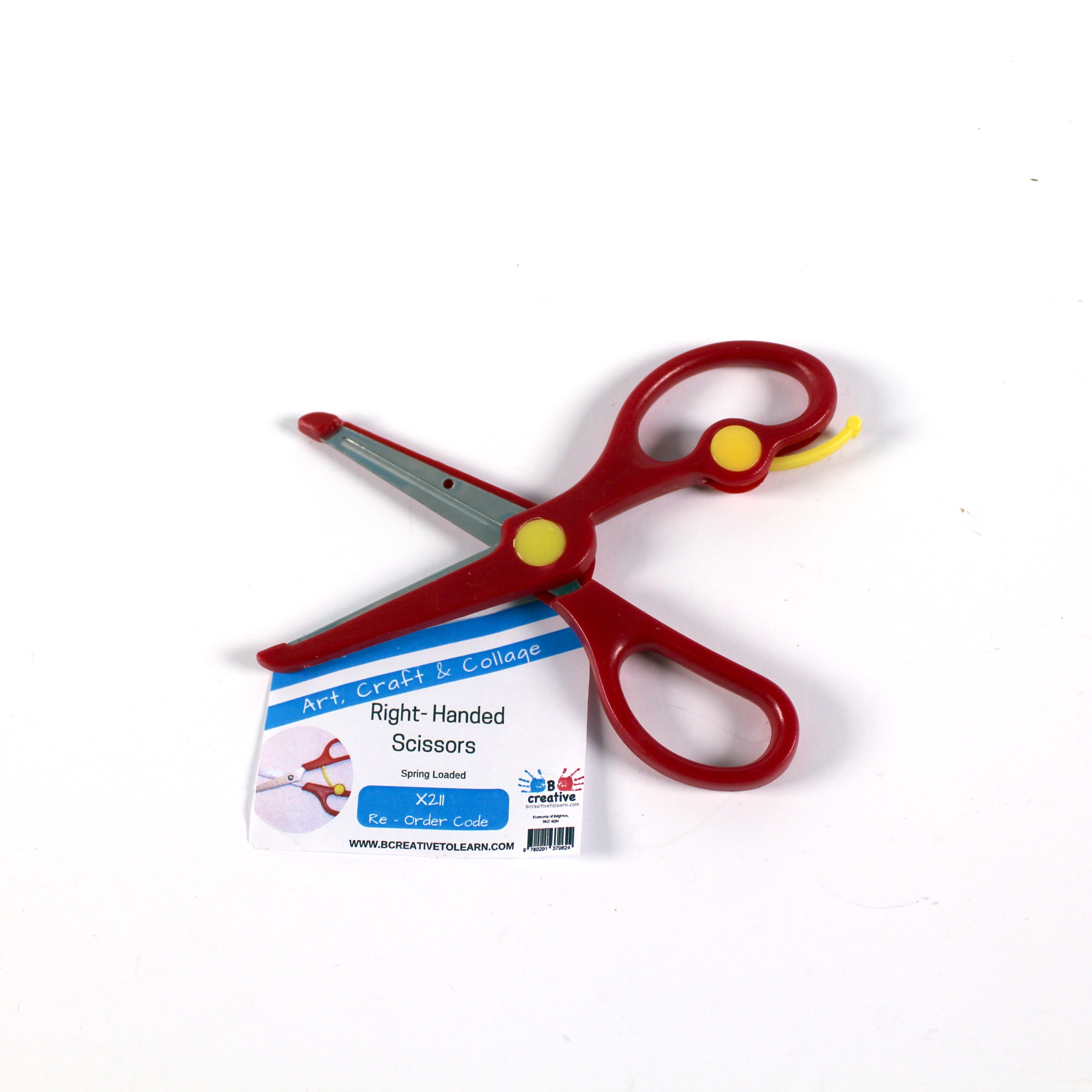 Spring Aided Children's right handed scissors