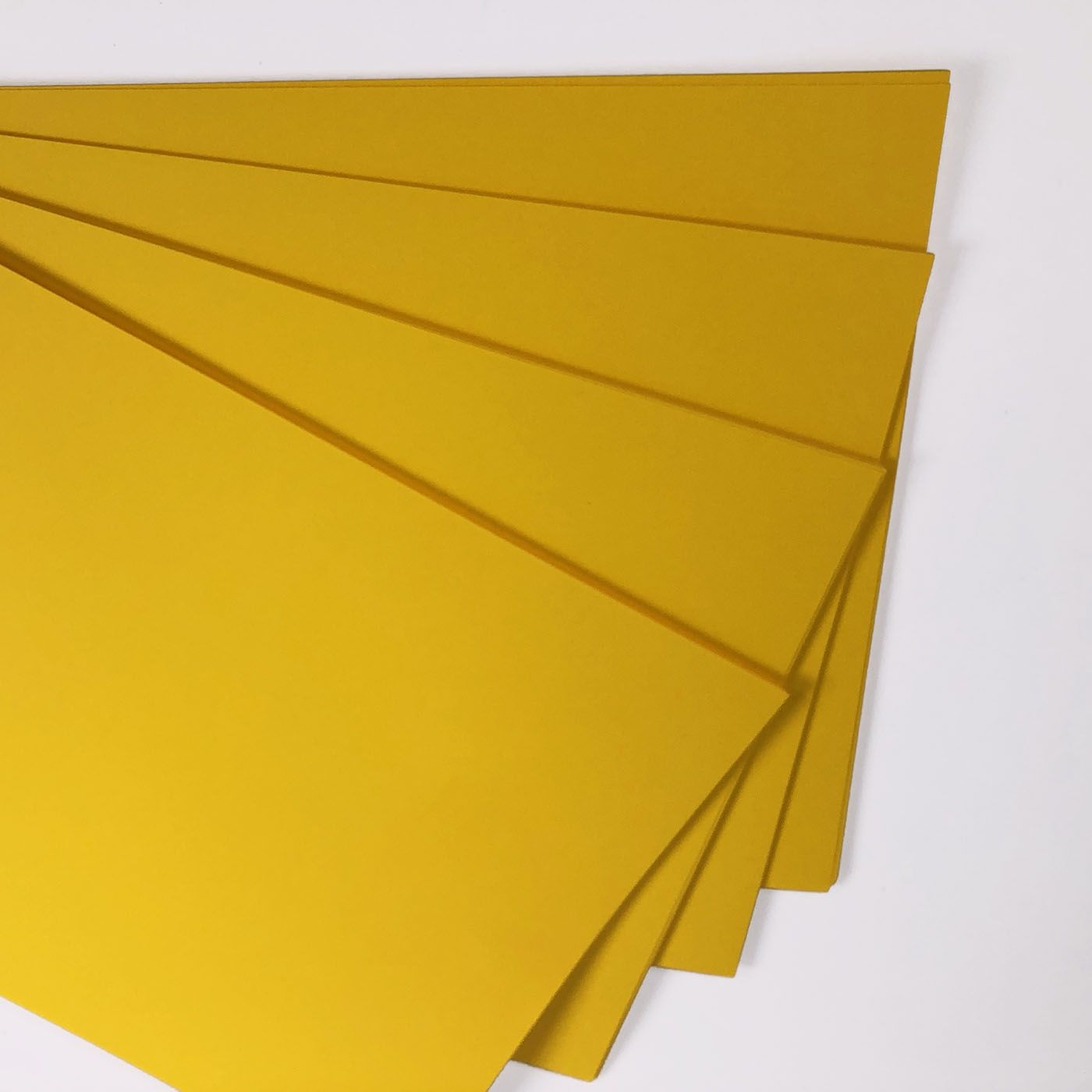 yellow a4 card 160gsm