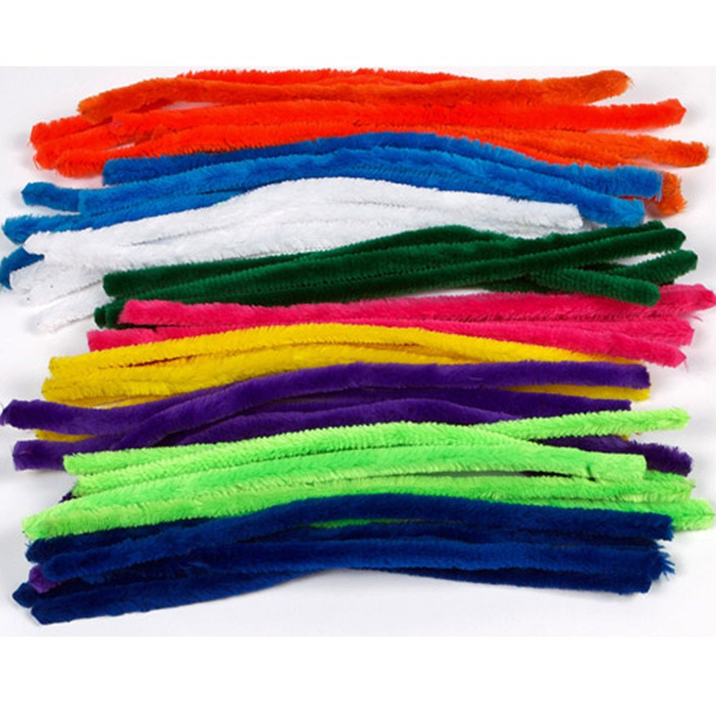 thick coloured pipe cleaners