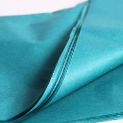 Tissue sheets turquoise colour