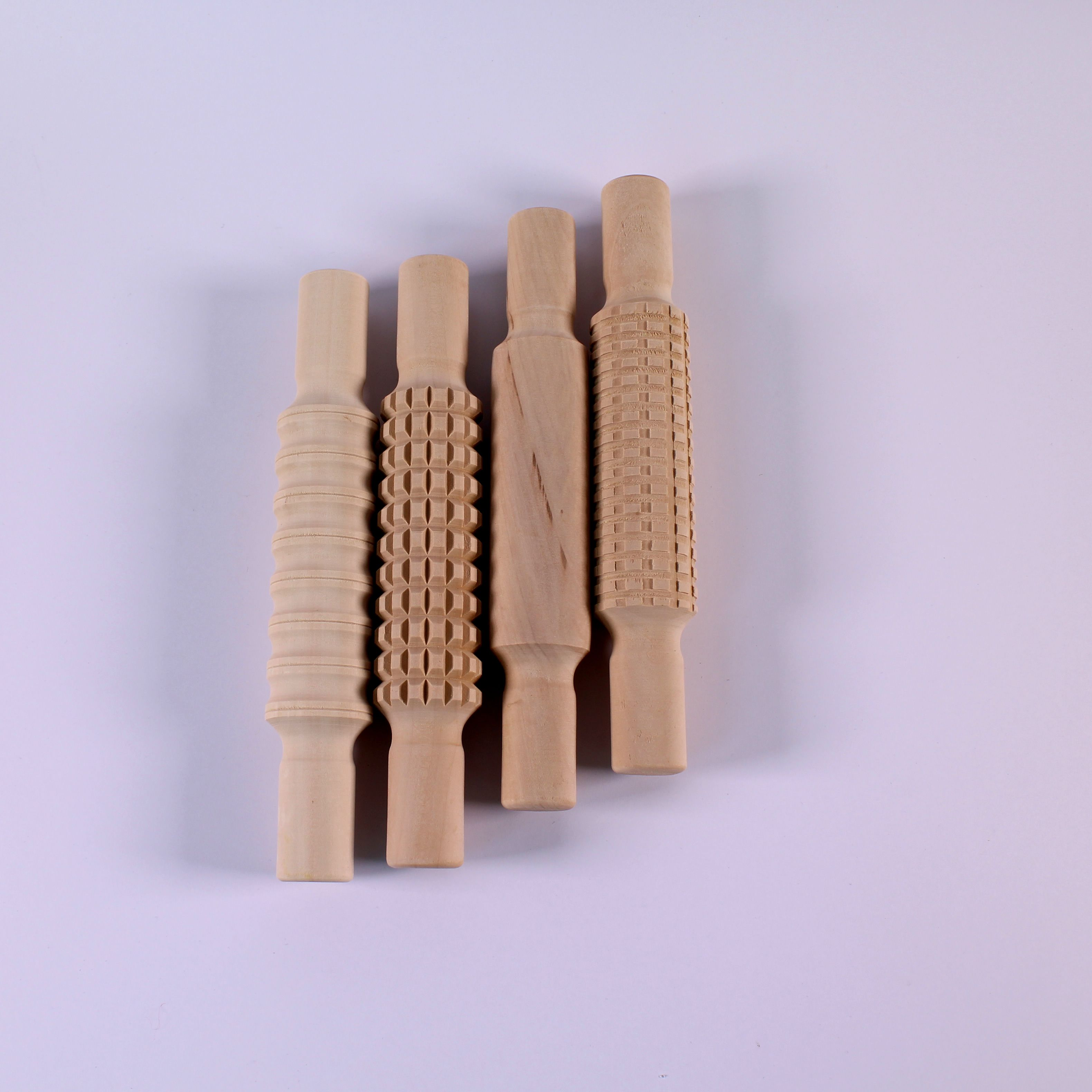 Wooden Patterned Rolling Pins
