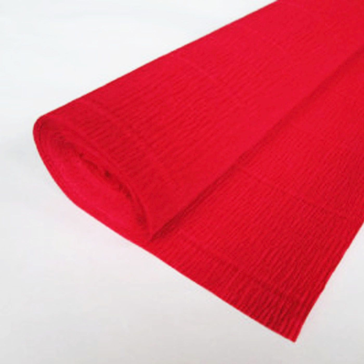 Crepe paper 3m 65% Stretch Flame Red