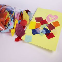 tissue paper for collage