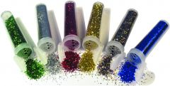 small assorted glitter shakers