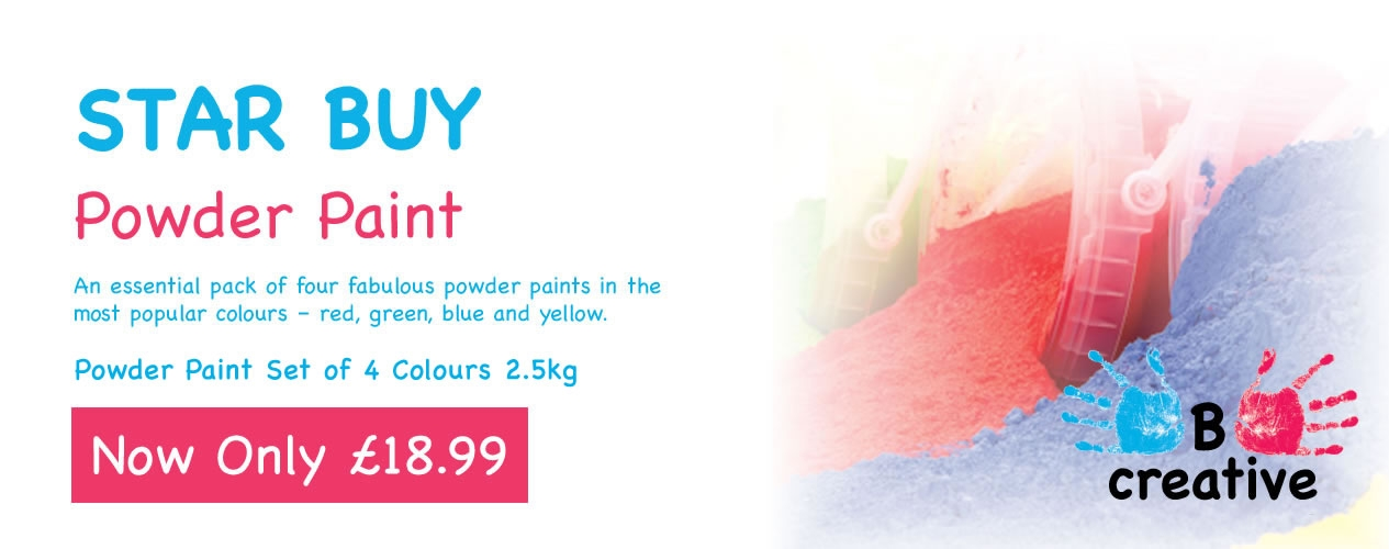 A wide range of BCreative Paints